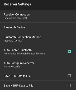 Differential GPS (DGPS) Configuration - Android - Bad Elf