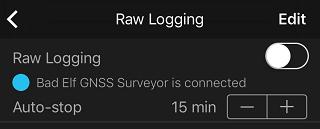 Raw Logging UI